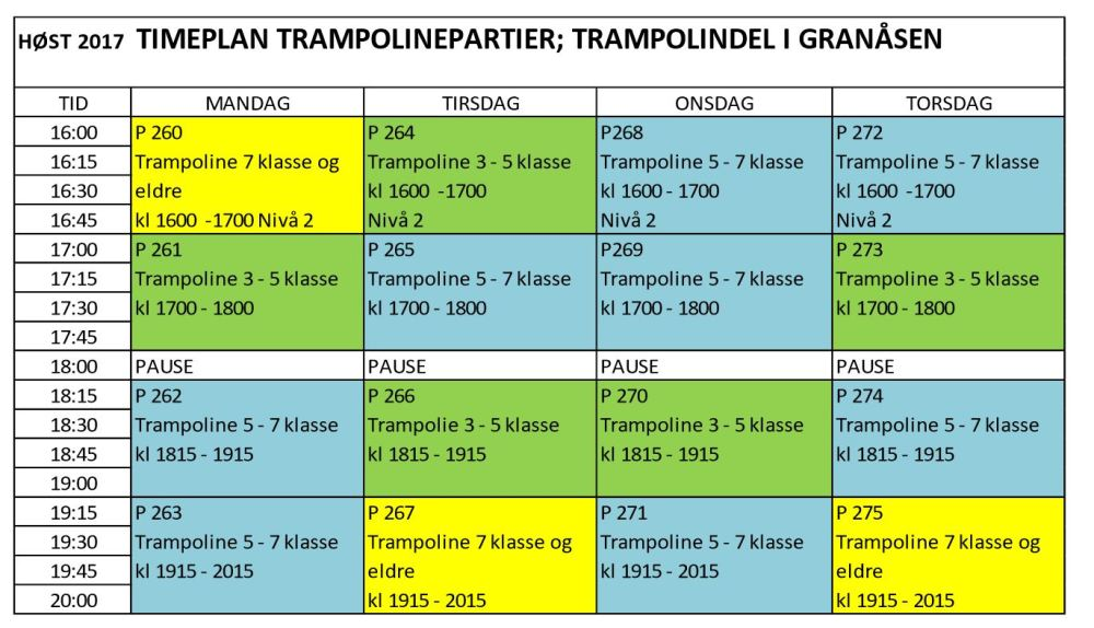 Granåsen_Trampoline